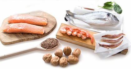 Essential fatty acids (EFAs) in diet